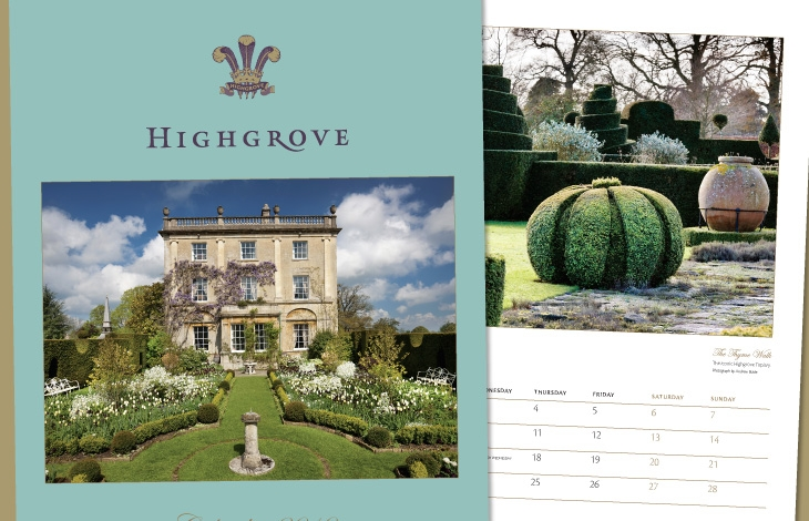 Highgrove stationery